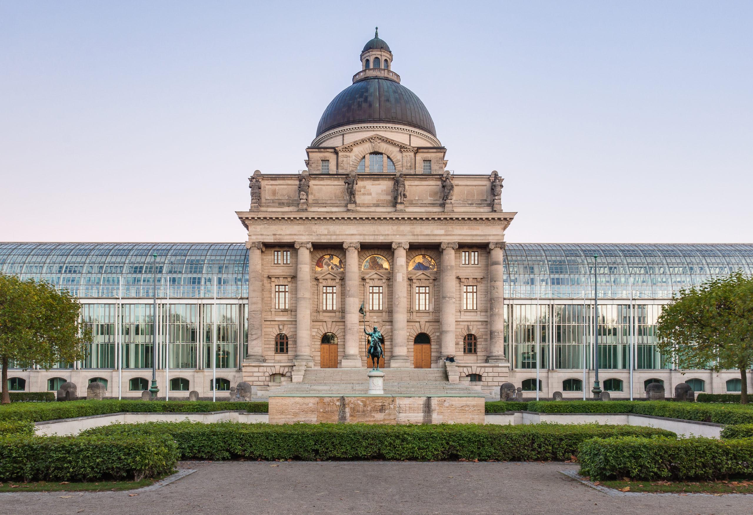 Staatskanzlei Munich - Bavarian State Chancellery - Credits to Julian Herzog